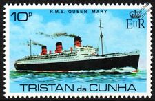 RMS QUEEN MARY (Cunard White Star Line) Ocean Liner Cruise Ship Stamp
