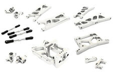 C26738SILVER Integy CNC Machined Suspension Kit for HPI Jumpshot MT, SC & ST