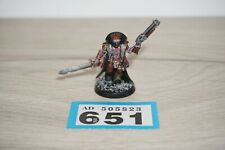 Warhammer 40k Chaos Marines Cultists Champion Tetchvar Painted LOT 651