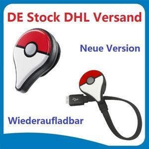 Wiederaufladbare Pokemon Go Plus Bluetooth für Nintendo Android IOS DHL