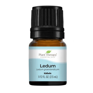 Plant Therapy Ledum Essential Oil 2.5 mL (1/12 oz) 100% Pure, Undiluted, Natural