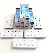 50 x Osram Lampe 12V 1,2W W2x4.6d Glassockellampe W1,2W Innenbeleuchtung 2721