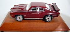 """MATCHBOX """"Premiere"""" serie 1970 Pontiac GTO modello speciale su legno Socket"""