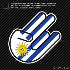 Uruguayan Shocker Sticker Die Cut Decal Self Adhesive Vinyl Uruguay URY UY