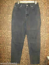 Faded Glory Black Jeans pre owned Size 14 100% Cotton
