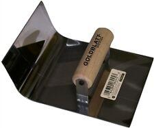 "GB06245 Goldblatt 6"" x 4-1/2"" Stainless Steel J-Form Gutter Tool"