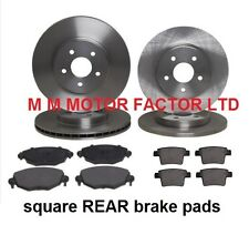 FORD MONDEO MK3 00- 1.8 2.0 2.2 FRONT AND REAR BRAKE DISCS AND PADS SET