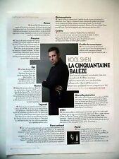 COUPURE DE PRESSE-CLIPPING : KOOL SHEN La Cinquantaine Balèze  02/2016 NTM