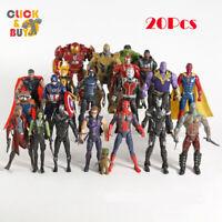 20Pcs Marvel Avenger Character Action Figure set Super Heroes Infinity War Movie