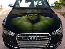Vinyl Car Hood Full Color Graphics Decal The Incredible Hulk 3D Avengers Sticker