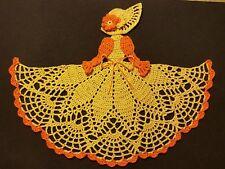 Crochet Crinoline Lady Doily - Ms. Marigold