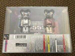 Daft Punk Reiji Matsumoto INTERSTELLA 5555 Limited DVD/CD Bearbrick Edition