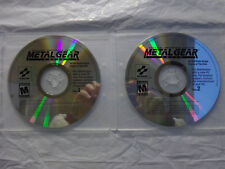 Metal Gear Solid (PC, 2000) PC GAME XP/VISTA/WINDOWS 7/8.1/10 Brand New