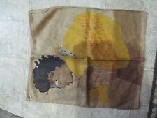 New listing Black Americana Painted Bag Looks To Be 1930s -50s Never Seen Anything Like This
