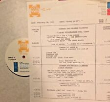 RADIO SHOW: 2/16/88 TODAY IN '71 GRASS ROOTS, GORDON LIGHTFOOT,TOM JONES, CCR