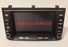 HYUNDAI GENESIS 96563-3M851 965633M851 NAVIGATION TOUCH SCREEN REPAIR SERVICE