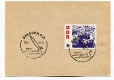 1962 Dresdena Kreis Briefmarken Ausstellung DDR SPACE NASA