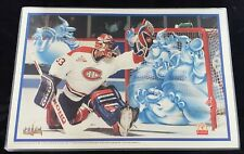 PATRICK ROY Montreal Canadiens 1996 McDonald's Placemat 17x12