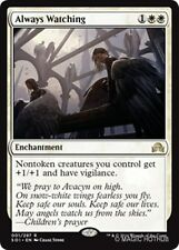 ALWAYS WATCHING Shadows over Innistrad MTG White Enchantment Rare