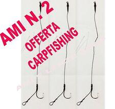 KIT 3 AMI LEGATI N° 2 CARP FISHING FINALI PRONTI CARP FISHING BOILES CARPA