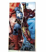 New Licensed Marvel Avengers Cotton Beach Bath Towel Boys Girls Kids