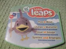 Leap Frog baby little leaps Bb Cc Play & More 4 languages  interactive disc