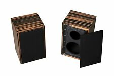 Pair Speaker Box For Rogers LS3 / 5A, Rogers LS 3 / 5A ebony BBC spec