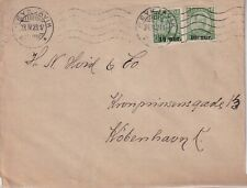 ICELAND, 1923  COVER TO DENMARK