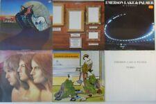 6x Vinyl LP Bundle Sammlung Emerson Lake & Palmer - Tarkus / Pictures At An...