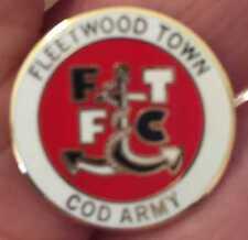 Fleetwood Ciudad Cod ejército redonda de esmalte Pin Insignia