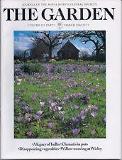 RHS THE GARDEN Magazine - March 2000