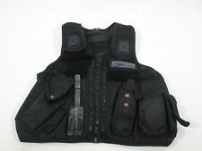 Ex Police Arktis Utility & Tactical Equipment Carrier Black Vest Security
