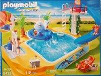 PLAYMOBIL 5433 Summer Fun - Erlebnisbad mit Sprudelwal Neu/Ovp