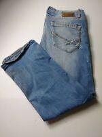 BKE Buckle Mens Jake Bootleg Destroyed Jeans Size 40x31 Medium Wash Cotton