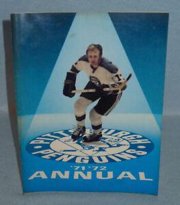 HTF Vintage 1971 Pittsburgh Penguins Hockey Team YEARBOOK., Old, Rare & Decent