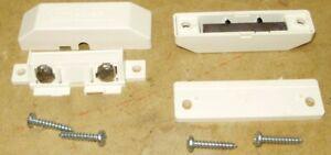 Sentrol Magnetic Alarm Sensors 1282T-W Series Ivory Off White Closed Loop