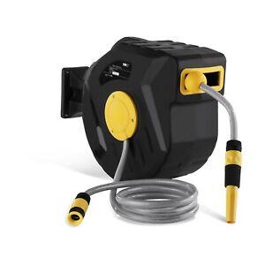 Wasserschlauch Aufroller Schlauchtrommel Gartenschlauch Automatik Schlauch 20M