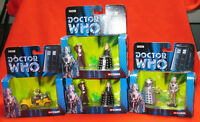 Corgi Doctor Who classic collectors' sets from 2004.