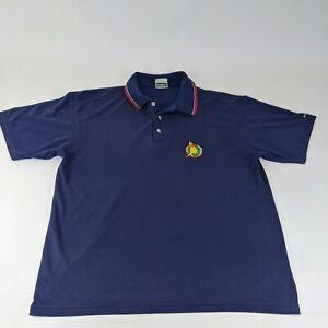 Bonds Boxing Kangaroo Polo Shirt Size Large L/G Australia Navy Blue