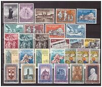 S15524) Vatican MNH 1961, Complete Year Set 28v