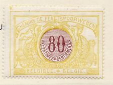 Belgium 1895 Early Issue Fine Mint Hinged 80c. 110822