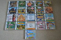 Nintendo DS Games Used Mario Professor Layton Nintendogs Iron Man 2 Sonic