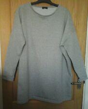 Ladies Papaya Grey sweater size XL
