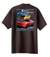 Mens Ford Logo Mustang Boss 302 T Shirt Legend Lives Design Car Truck Classic