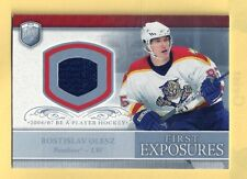 ROSTISLAV OLESZ 06-07 UD BE A PLAYER FIRST EXPOSURE ROOKIE JERSEY PANTHERS