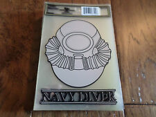 U.S MILITARY NAVY SCUBA DIVER  WINDOW DECAL STICKER