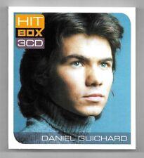 COFFRET 3 CD / DANIEL GUICHARD - HIT BOX 3 CD / 36 TITRES COMPILATION 2011