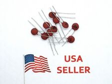 .1uF Ceramic Disc Capacitor 50V 100nf (10 Pieces) USA SELLER