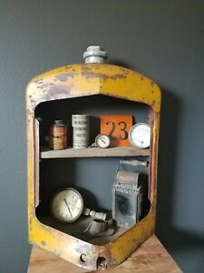 Vintage Industrial Tractor Grill Shelf (One Of A Kind)