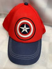 Captain America Marvel Disney Adjustable Youth Baseball Ball Cap Hat